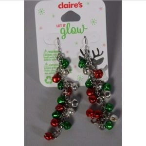 Claire's girls earrings dangling balls jewelry